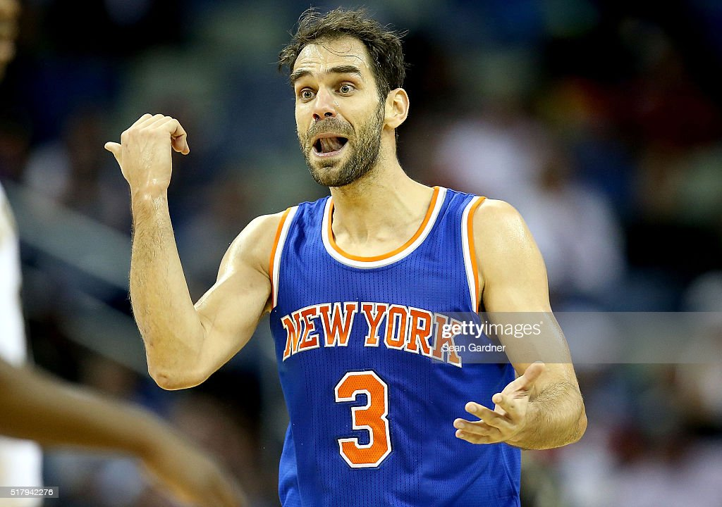 New York Knicks v New Orleans Pelicans