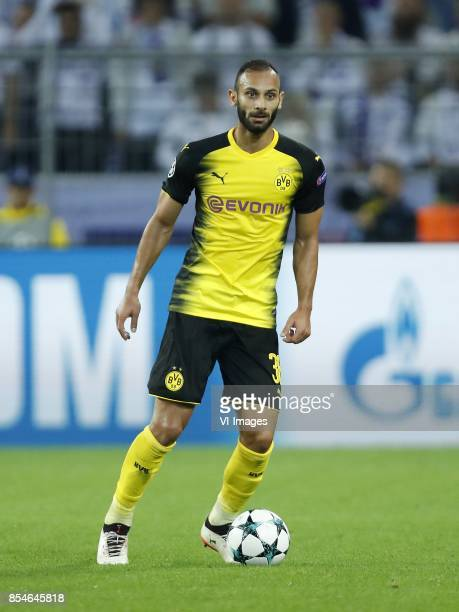 Omer Toprak of Borussia Dortmund during the UEFA Champions League group H match between Borussia Dortmund and Real Madrid on September 26 2017 at the...
