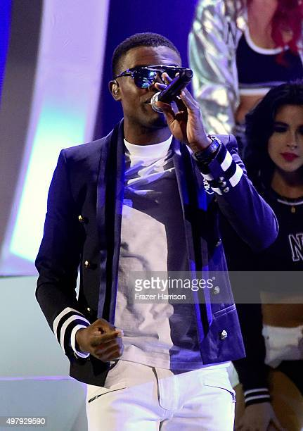 Omi onstage during the 16th Latin GRAMMY Awards at the MGM Grand Garden Arena on November 19 2015 in Las Vegas Nevada