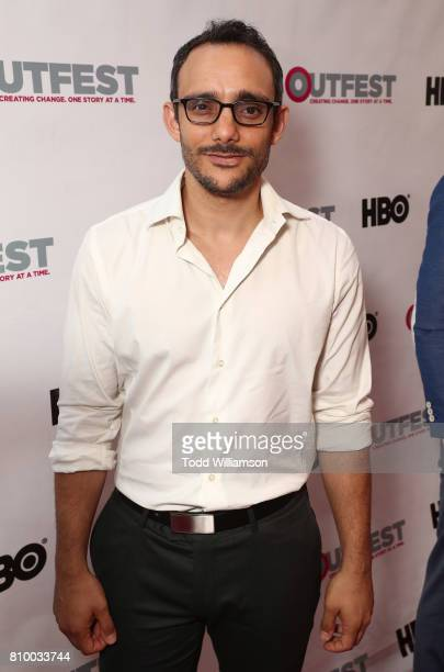 Omid Abtahi attends the 2017 Outfest Los Angeles LGBT Film Festival Opening Night Gala at Orpheum Theatre on July 6 2017 in Los Angeles California