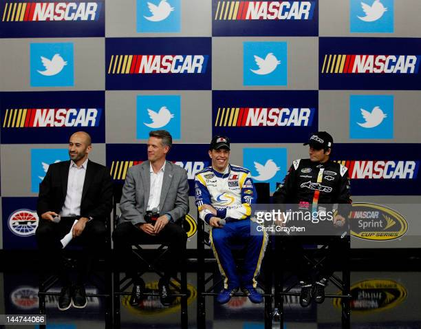 Omid Ashtari Head of Sports and Entertainment for Twitter Steve Phelps Senior Vice President and Chief Marketing Officer for NASCAR Brad Keselowski...