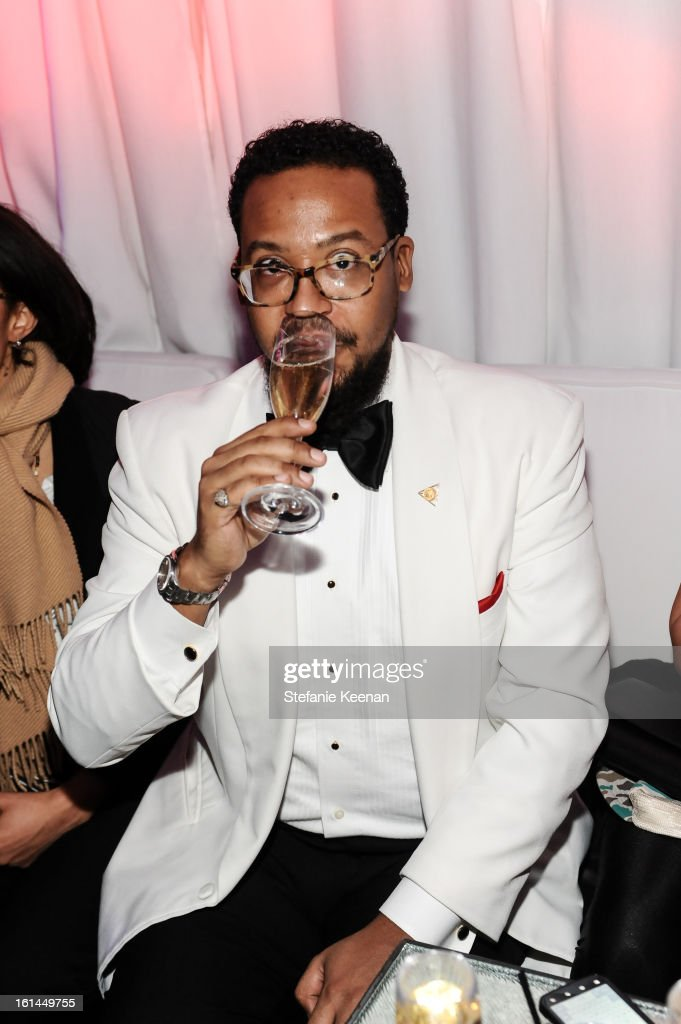 Om'Mas Keith attends Red Light Management Grammy After Party at Mondrian Los Angeles on February 10, 2013 in West Hollywood, California.