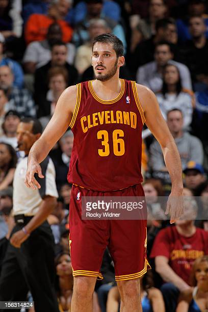 Omri Casspi of the Cleveland Cavaliers in a game against the Golden State Warriors on November 7 2012 at Oracle Arena in Oakland California NOTE TO...