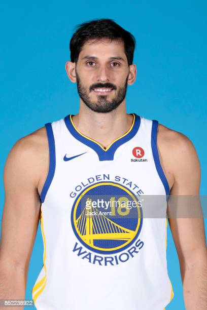 Omri Casspi of the Golden State Warriors poses for a head shot during media day on September 22 2017 at Oracle Arena in Oakland California NOTE TO...