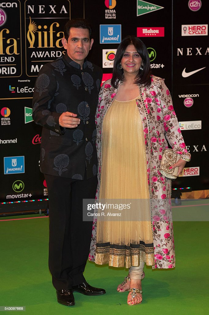 Omung Kumar attends the 17th IIFA Awards (International Indian Film Academy Awards) at Ifema on June 25, 2016 in Madrid, Spain.