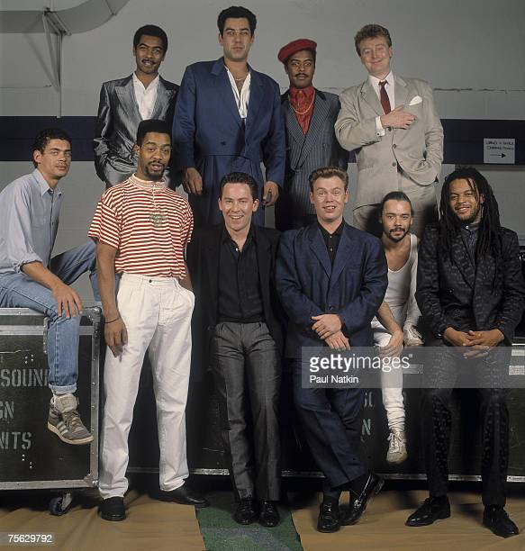 UB40 on 11/8/88 in Chicago Il