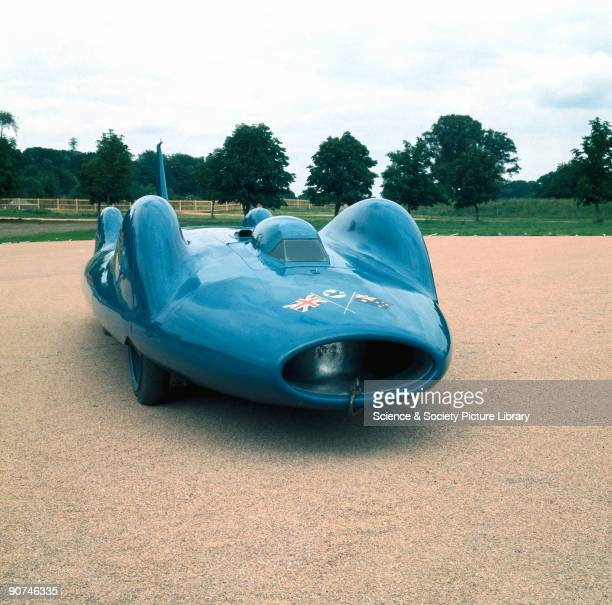 On 17th July 1964 Donald Campbell claimed the world land speed record at Lake Eyre Australia driving this gas turbinepowered BluebirdProteus car...