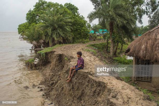 On 28 August 2017 in Ghoramara India The villagers don't have any permanent home and they have to shift their base anytime when required for their...