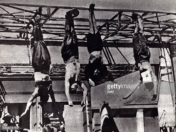 On 29 April 1945 Piazzale Loreto was chosen as the symbolic place for the display of the bodies of Benito Mussolini Claretta Petacci and other...