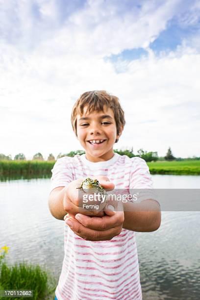 On a frog hunt