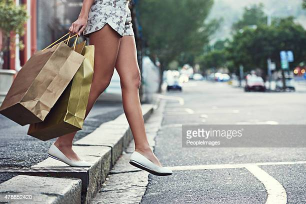 On a shopping expedition in the city