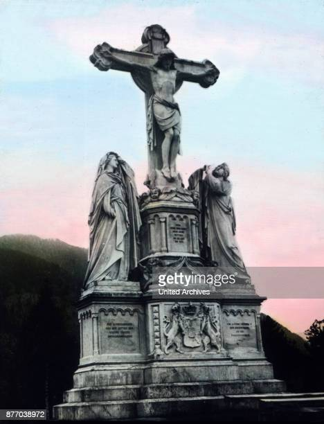 On a small freestanding covered with green meadows hills Osterb™hl the stands carved out of marble the large built by King Ludwig II The village...