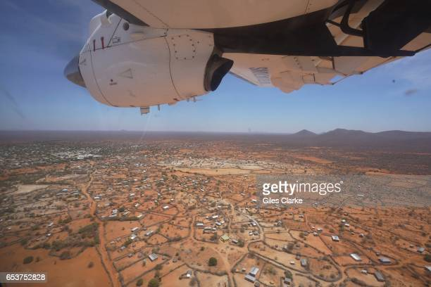 REGION SOMALIA MARCH On a UN Humanitarian Air Services aircraft before landing in Dinsoor central Somalia According to an United Nations February...