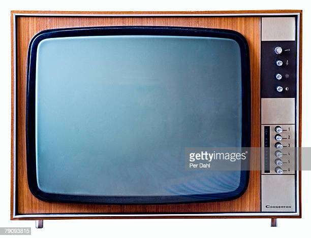 A TV on a white background.