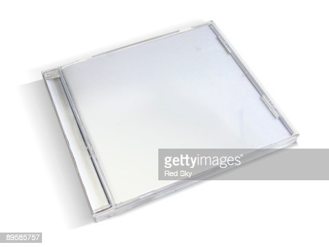 CD on a white background