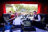 On Air with Ryan Seacrest broadcasts live with host Ellen K from the Macy's Herald Square Broadway windows during the Ryan Seacrest Distinction...