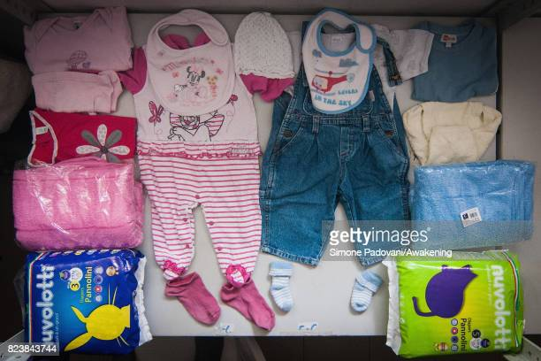 On arrival staff give the asylum seekers basic kits for men women and children for their short stay at the Hub Cara centre where they are able to...