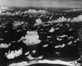 On August 3 The American Army Dropped An Atomic Bomb Above Bikini Atoll In The Pacific Ocean Near The Marshall Islands