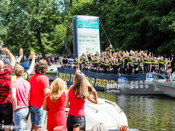 On August 5th 2017 The Canal Parade is what Amsterdam Gay Pride is famous for It's the crown on their two weeks lasting festival that features more...