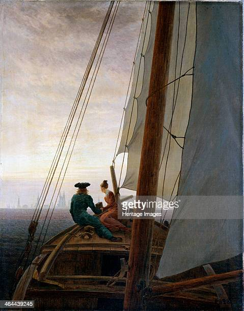 'On Board a Sailing Ship' between 1818 and 1820 Friedrich Caspar David Found in the collection of the State Hermitage St Petersburg