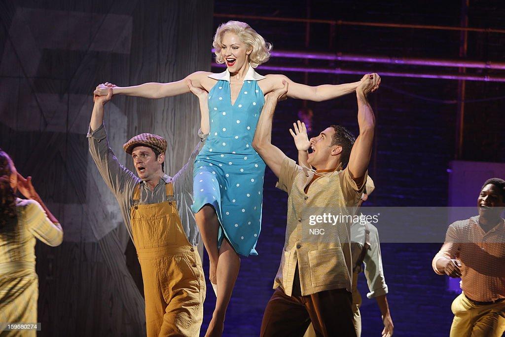 SMASH 'On Broadway' Episode 201 Pictured Katharine McPhee as Karen Cartwright