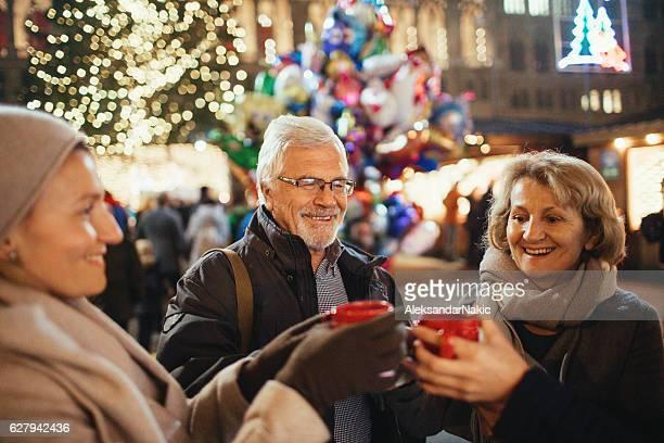 On Christmas market