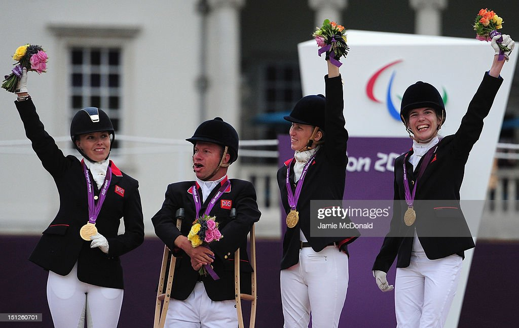 on day 6 of the London 2012 Paralympic Games at Greenwich Park on September 4, 2012 in London, England.