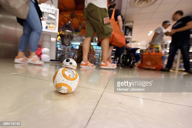 BB8 on display as Toys'R'Us Celebrates Force Friday With OutOfThisGalaxy Midnight Events on September 4 2015 in New York City
