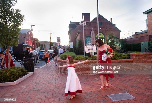 On Friday June 11 2010 people gathered in Elkton MD a tiny town near the Chesapeake Bay to celebrate National Marriage Day Flower girl Elle Adkins of...