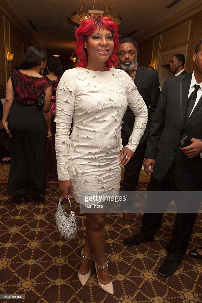 On Friday March 11 in Washington DC at The Omni Shoreham Hotel Traci Braxton at the 44th Annual Whitney M Young Jr Memorial Gala 'Unsung Heroes'
