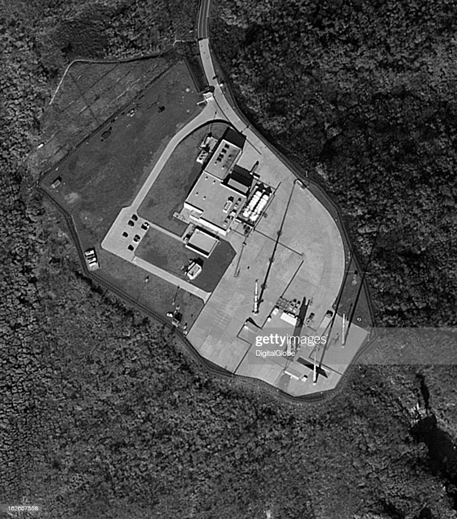 On January 30, 2013, South Korea achieved its first indigenous satellite launch after two previous failures and two aborted attempts. This image shows the Naro Space Center launch pad on Oenaro Island off the southern coast of mainland South Korea. The space center is operated by the state-run Korea Aerospace Research Institute and includes a launch pad, a control tower, a rocket assembly building, test facilities, fuel storage and supply facilities, an electric power station and a landing field.