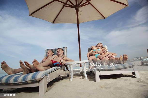 On Jumeirah beach, Dubai.