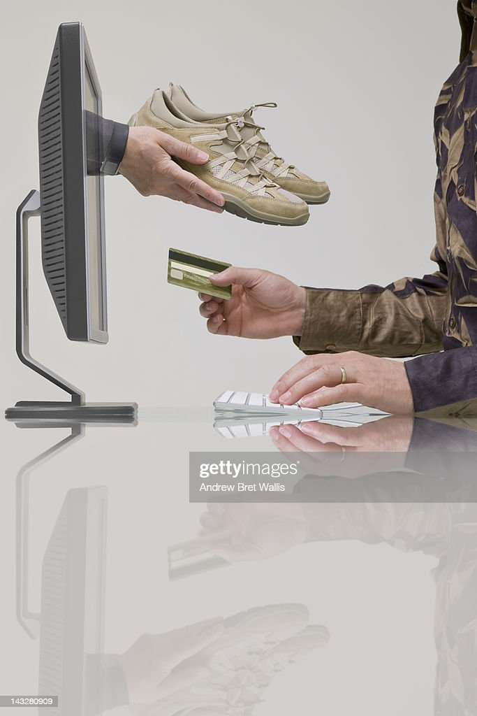 On line and internet shopping : Stock Photo
