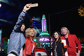 DISNEYLAND 60 On location at Cars Land in Disney California Adventure Park Grammy Awardwinning country music vocal group Little Big Town sings 'Steve...