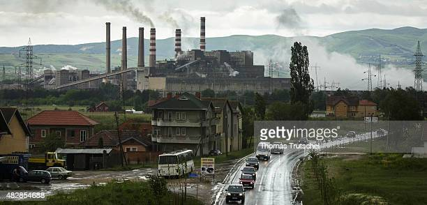 Lignite power plant A of Kosovo