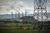 Lignite power plant A of Kosovo