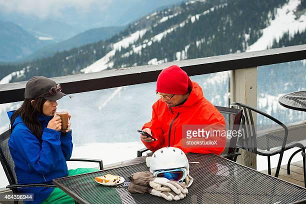 On mountain coffee