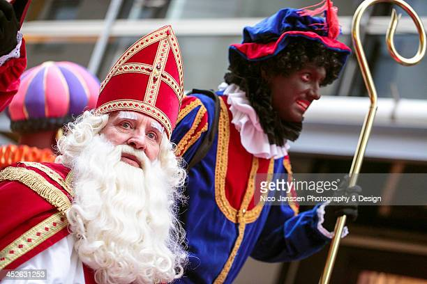 CONTENT] On November 16 Sinterklaas and a substantial retinue of Zwate Pieten paraded through Almere Pete carries the Sint's staff