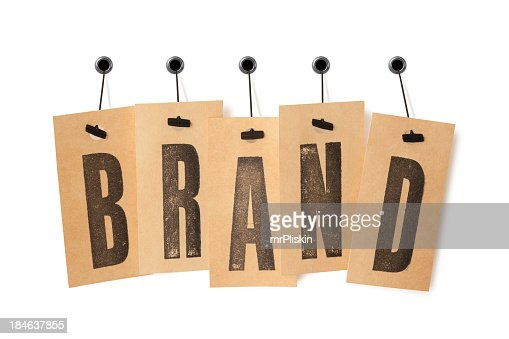 BRAND on price labels