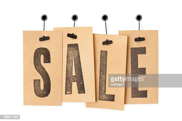 SALE on price labels