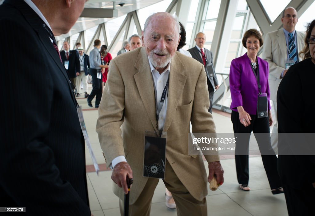 On Saturday July 26 Metro opened the Silver Line with five new stations from Reston to McLean Bob Simon Reston founder is pictured arriving at the...