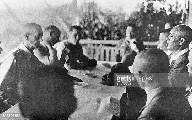On September US General Jonathan Wainwright surrenders the Philippines to Japanese General Masaharu Homma leader of the Japanese invasion forces and...