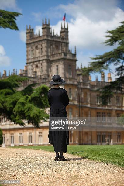 downton abbey stock fotos und bilder getty images. Black Bedroom Furniture Sets. Home Design Ideas
