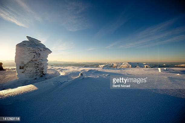 On summit of Blaskjerdingen