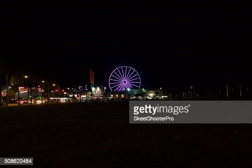 On The Boardwalk : Stock Photo