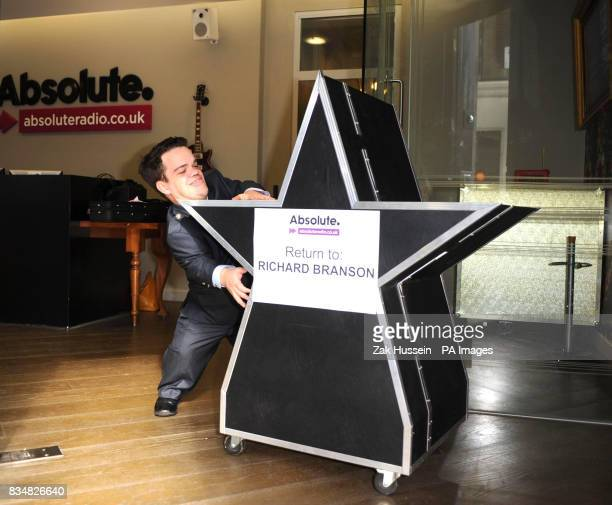 On the day that Absolute Radio launches station security guard Doug wheels out the infamous Virgin Radio logo to be sent back to Virgin's Richard...