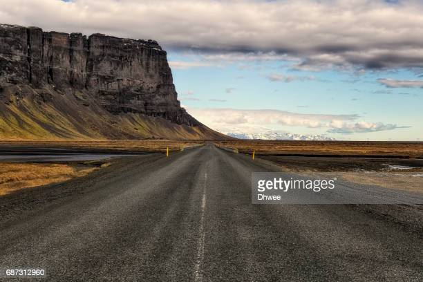 On The Highway Or Ring Road 1 To Skaftafel National Park Iceland