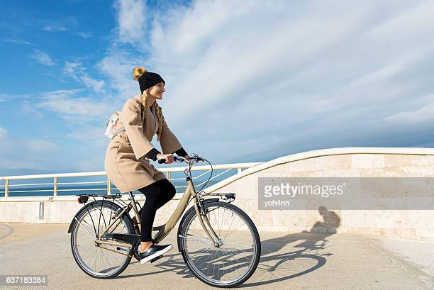 On the move by bicycle
