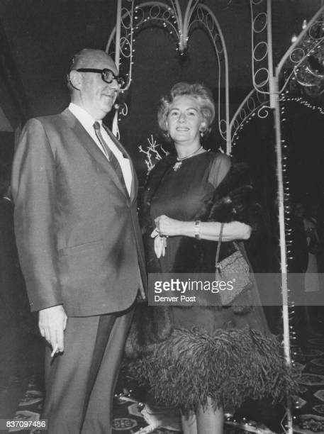 On the Party going Scene Mr and Mrs Thomas Leon Howard Jr were among merry makers at zoo benefit staged by MayDF Sunday night Credit Denver Post