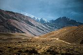 On the road to Kargush pass, Tajikistan